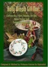 Holly Wreath Gift Box