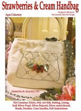 Perfect for summer, this stylish and easy to stitch handbag used a delightful collection of beads, Rajmahal Art Silks and Sadi threads to create a fashion accessory handbag you will treasure!