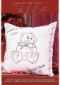 Cute Creations! This gorgeous Teddy makes a sweet cushion or picture, idea for a new stitcher or a quick piece.