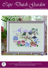 Superb simple stitching in Art Silks to create this home and garden
