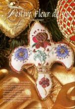 Festive Fleur de Lys