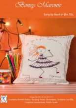Gorgeous happy fun with Boney Maronie. Make a picture, cushion, bag or....