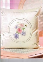 This stunning Design by Gadys Clough is featured in Creative  Embroidery and Cross Stitch VOL 21 No 6