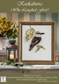 A truly superb kit featuring one of Australia's most amazing birds, the Laughing Kookaburra! Create an heirloom or a very special gift. Clear, concise instructions will make this a joy to stitch.