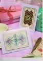 Hardanger & Bargello card