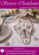 Beautiful work - quick, easy and effective. A delightful pair to the Antique Heart Pincushion.