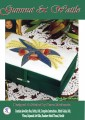 This beautiful box features simple embroidery and appliqued leaves...a truly Australian gift and heirloom
